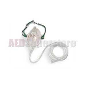 CO2 Mask with Adapter (package of 10) for ZOLL E, M & R Series Defibrillators