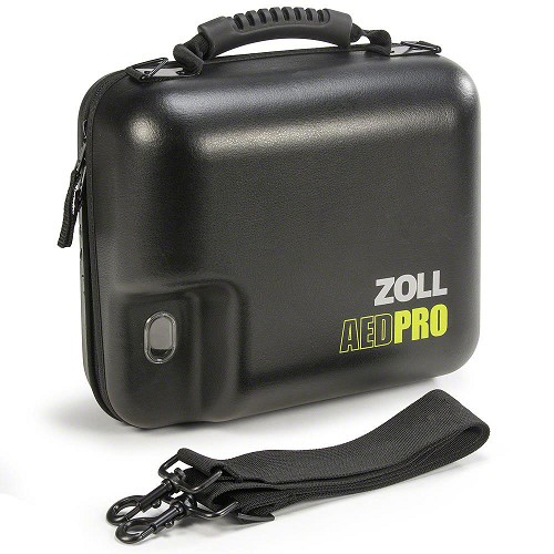ZOLL® AED Pro® Replacement Semi-Rigid Vinyl Carry Case w/Spare Battery Compartment
