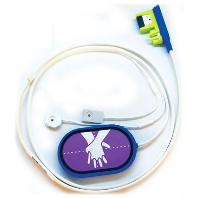 CPR Uni-padz Training Electrode Harness for the ZOLL® AED 3 Trainer