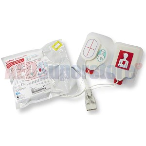 OneStep Pediatric CPR Resuscitation Electrode Pads for ZOLL R Series Defibrillators