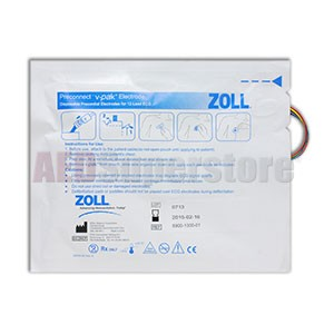 ZOLL V-Pak Preconnected V Lead Electrodes for 12 Lead (package of 40)