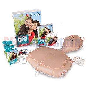 AHA 2010 Family & Friends CPR Anytime Kit, Light Skin