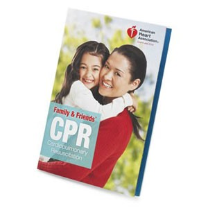 AHA 2010 Family & Friends CPR Student Manual - 5 pk