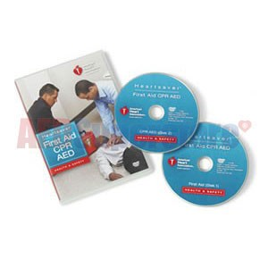 AHA Heartsaver First Aid CPR AED on DVD (AHA 2010 Edition)