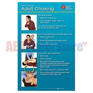 AHA 2010 Heartsaver Adult Choking Poster