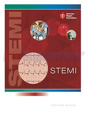 AHA STEMI Provider Manual w/ECG ACS Ruler