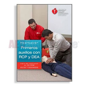 AHA Heartsaver First Aid CPR AED Instructor Manual CD - Spanish