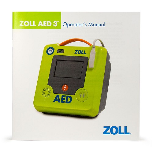 Operator's Manual for ZOLL AED 3 BLS