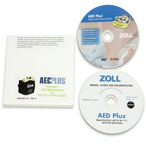 ZOLL® AED Plus Installation Video & Product Documentation on CD