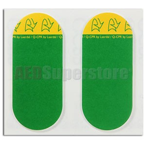 Q-CPR Pads 10pk (replacement) for Philips HeartStart MRx Monitor/Defibrillators