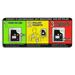 Welch Allyn® AED 10™ Quick Reference Card