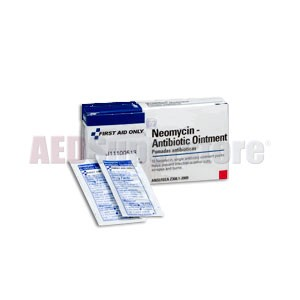 FAO Neomycin Antibiotic Ointment 0.9gm, 10 Packs per Box