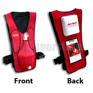 Act+Fast™ Medical Anti-Choking Red (ARC/ERC) Trainer - Single