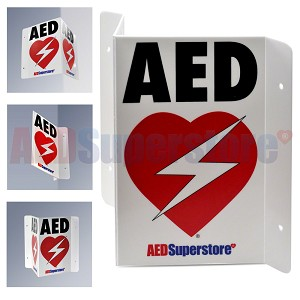 RespondER® Flexible AED Wall Sign