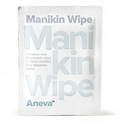 Aneva™ Training Manikin Wipes