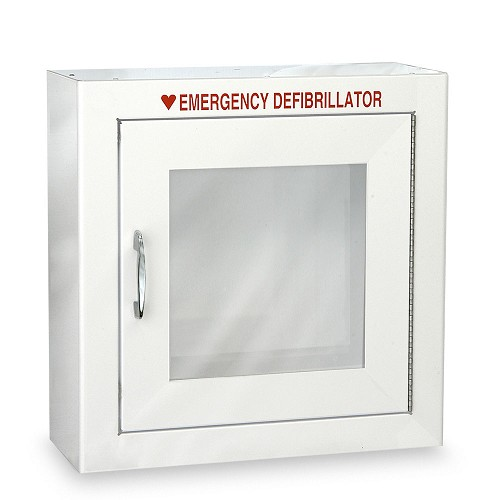 Standard Size AED Cabinet with Advanced Alarm Options