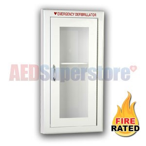 Fire Rated Tall Size AED Cabinet