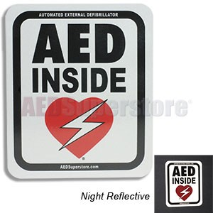 RespondER® Magnetic Reflective Vehicle Sign