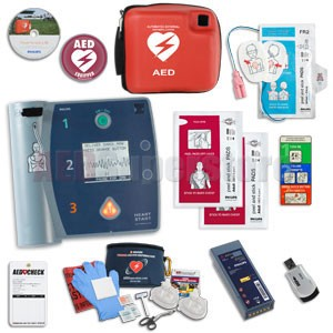 Philips HeartStart FR2+ AED Aviation Value Package