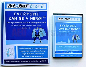 "Act+Fast™ Medical Training Curriculum ""Everyone Can Be A Hero"""