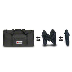 Red Cross Expandable Duffel Carry Bag for the Red Cross AED Trainer 6-Pack