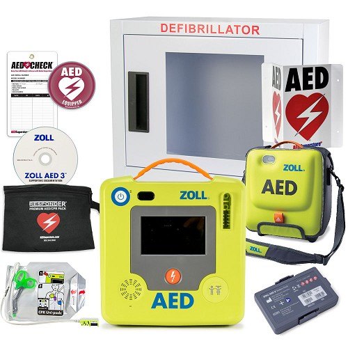 ZOLL AED 3 BLS Small Business Value Package