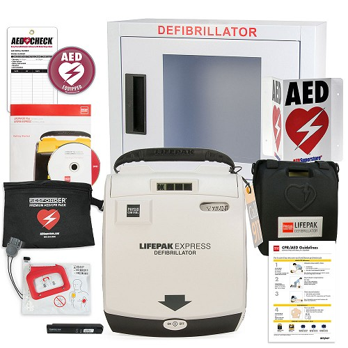 Physio-Control LIFEPAK EXPRESS AED Small Business Value Package