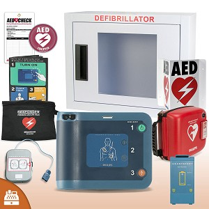 Philips HeartStart FRx AED Small Business Value Package (Includes RespondER® Premium Items)