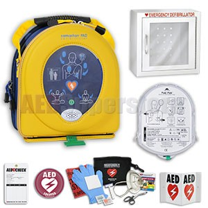 HeartSine samaritan PAD AED Affiliate Guard Package