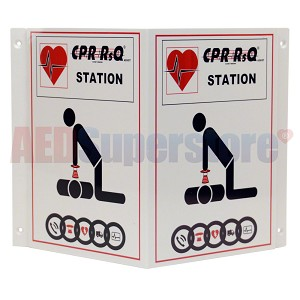 CPR RsQ Assist Wall Sign