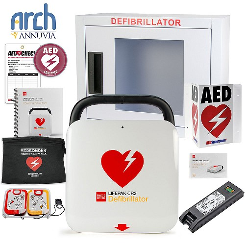 Physio-Control LIFEPAK® CR2 AED Corporate Value Package