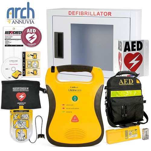 Defibtech Lifeline AED Corporate Value Package