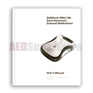 Defibtech Lifeline™ AED Users Manual (Spare)
