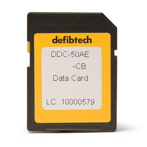 Defibtech Lifeline™ or Lifeline AUTO AED Data Card w/Audio Recording