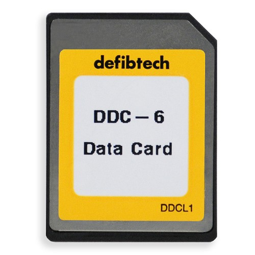 Defibtech Lifeline™ or Lifeline AUTO AED Data Card