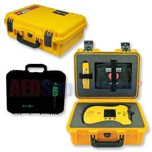 Shok Box® Watertight Hard Carry Case for the Defibtech Lifeline™ VIEW/ECG/PRO