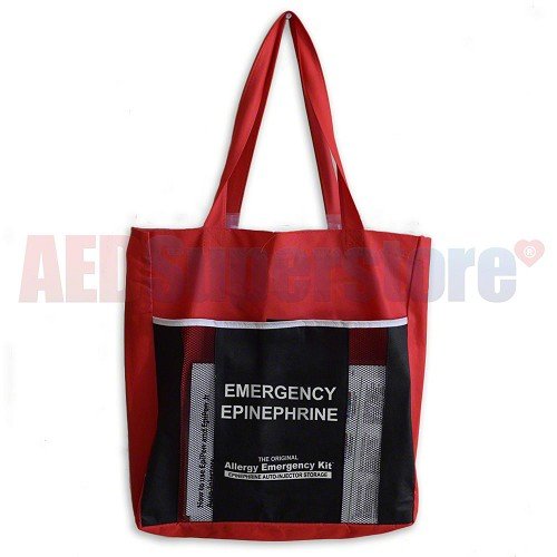 Allergy Emergency Kit™ Replacement Emergency Evacuation Tote Bag - Epinephrine