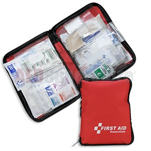 FAO All Purpose 187 Piece First Aid Kit, w/Large Soft-sided Case