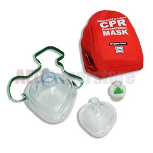 WNL Adult/Child & Infant CPR Masks in Soft Case w/Gloves & Wipe by WNL Safety Products