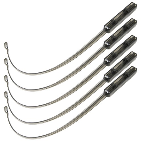 Tool 5-Pack for Inserting Face-Barrier Lung-Bags by Aneva<sup>™</sup>