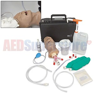 Life/form® Suction Assisted Laryngoscopy and Airway Decontamination (S.A.L.A.D.) Simulator