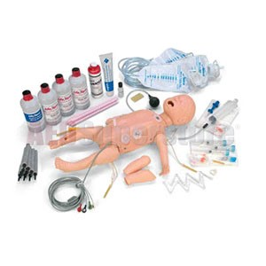 Life/form® Deluxe Complete Infant CRiSis Manikin w/Interactive ECG Simulators