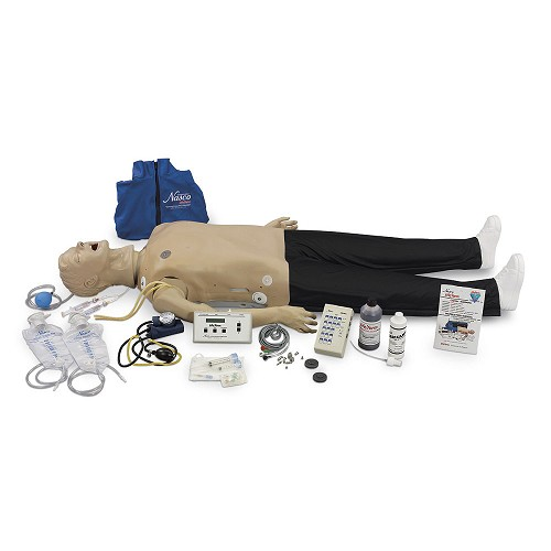 Life/form® Deluxe Adult CRiSis Manikin w/ECG Simulator & Advanced Airway Management