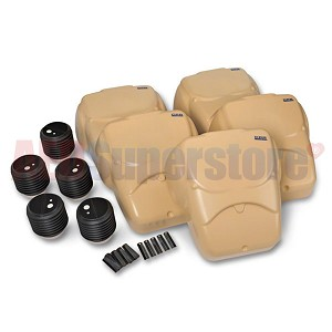 CPR Prompt® Adult/ChildCompression-Only Manikin TAN 5-Pack