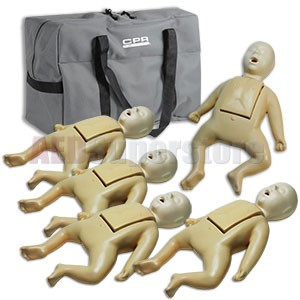 CPR Prompt® Infant 5-Pack TAN