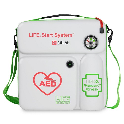 LIFE®StartSystem for Philips Heartstart Onsite - AED Case and Oxygen System