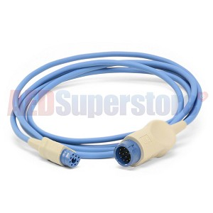 SpO2 Sensor 8-12 Pin Adapter Cable for Philips HeartStart MRx/XL/XL+ Monitor/Defibrillators