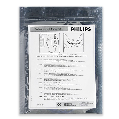 Philips OnSite Adult TRAINING Electrode Pads