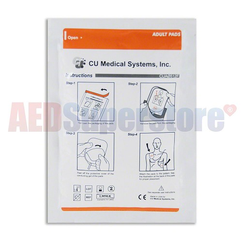 CU Medical i-PAD Adult Defibrillation Electrodes