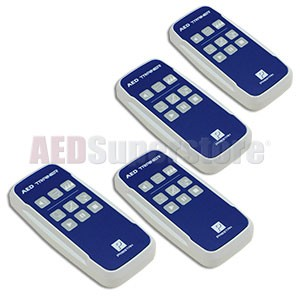 Remote Controls for the Prestan Professional AED Trainer (4-pack)